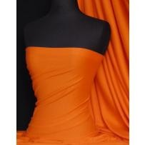 Bright Orange Cotton Interlock Jersey T-Shirts Q60 BTOR