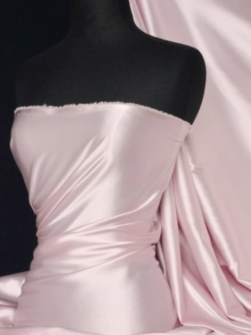 Rose Pink Super Soft Satin Fabric Q710 RSPN