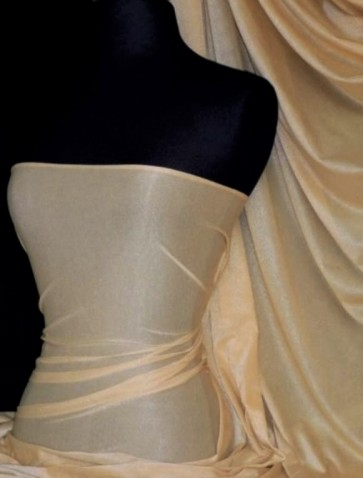 Skin Subtle Silver Shimmer 4 Way Stretch Light Weight Fabric SQ54 SKN
