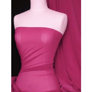 Fuchsia LT power mesh 4 way stretch fabric 109LT FUCH