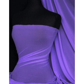 Deep Lilac LT Power Mesh 4 Way Stretch Fabric 109LT DPLLC