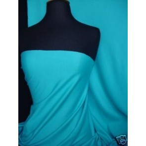 Turquoise Cotton Interlock Jersey Material T-Shirts Q60 TQS