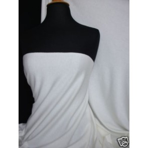 Ivory Cotton Interlock Jersey Material T-Shirts Q60 IV