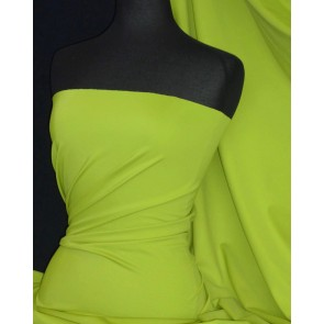 Pistachio matt lycra 4 way stretch fabric Q56 PISTA
