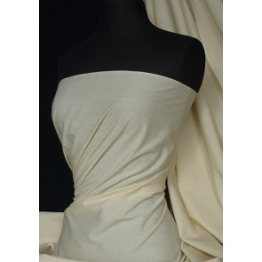Beige Poly Cotton Fabric Material Q460 BGE