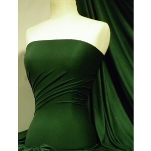 Bottle green viscose cotton stretch lycra fabric Q300 BTGRN