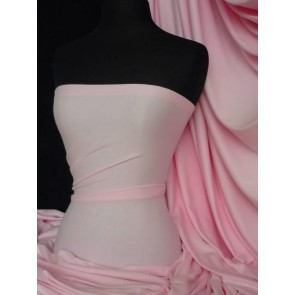 Baby pink poly cotton fabric material Q460 BPN