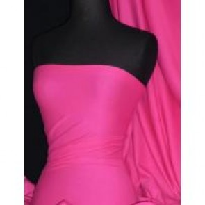 Cerise soft fine rib 100% cotton jersey knit