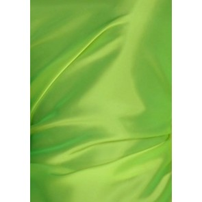 Clearance (2 metres) Flo Lime Green Crepe Back Satin Material CLST1 FLM