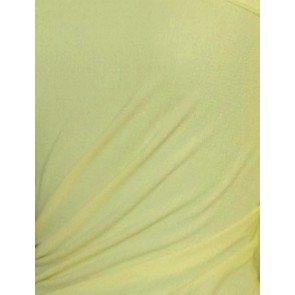 Clearance Lemon Cotton Interlock Material Tubular CLINT LMN