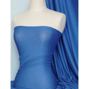Cobalt Stretch Fabric 100% SLB Viscose Fabric Q405 CBLT
