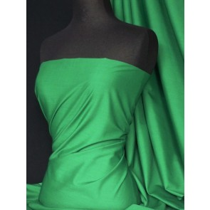 Emerald Poly Cotton Fabric Material Q460 EM