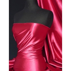 Fuchsia Super Soft Satin Fabric Q710 FUCH