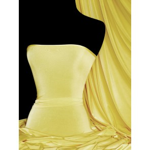 Lemon Silk Touch 4 Way Stretch Jersey Lycra Q53 LMN