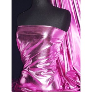 Light pink metallic foil stretch fabric NG253 LTPN