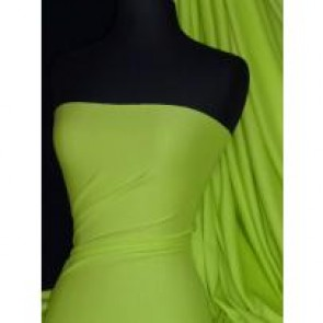 Lime green cotton interlock jersey t shirts