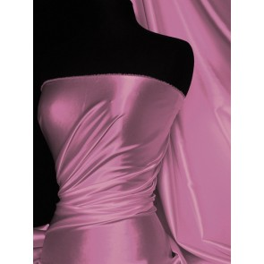 Lilac Super Soft Satin Fabric Q710 LIL
