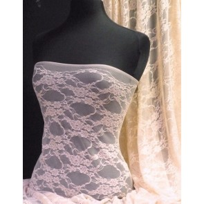 Nude Flower Soft Stretch Lycra Lace Q137 NUDE
