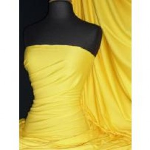 Yellow Cotton Interlock Jersey Material T-Shirts Q60 YL