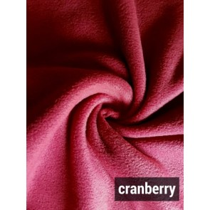 Cranberry Super Soft Polar Fleece- Anti Pill Washable Soft Fabric PF CNB
