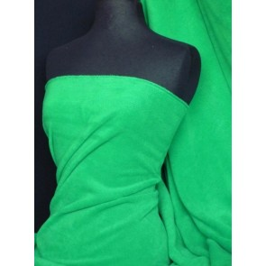Emerald Green Polar Fleece - Anti Pill Washable Soft Fabric PF_EMR