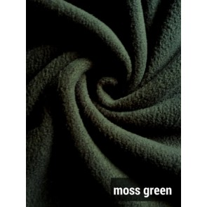 Moss Green Super Soft Polar Fleece- Anti Pill Washable Soft Fabric PF MSGR