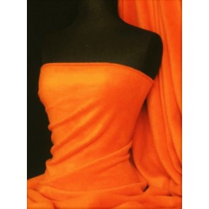 Neon Orange Super Soft Polar Fleece- Anti Pill Washable Soft Fabric PF NOR