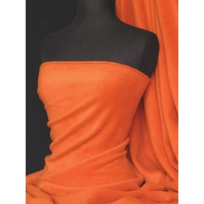 Orange Polar Fleece - Anti Pill Washable Soft Fabric PF_OR