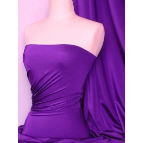Purple 4 Way Stretch Shiny Lycra Fabric Q54 PPL