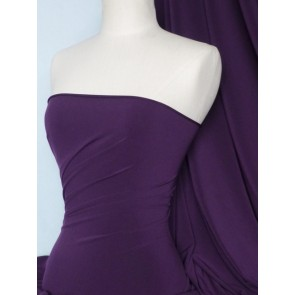 Purple 4 Way Stretch Soft Touch Fabric Q36 PPL