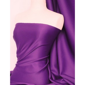Purple Scuba 4 Way Stretch Poly Lycra Q792 PPL
