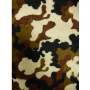 Miltary Brown/Olive Camouflage Polar fleece- Anti Pill Washable Soft  Q1111 BROLV