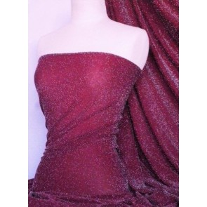 Fuchsia Pink Slinky Shimmer 4 Way Stretch Fabric Q1183 FCH