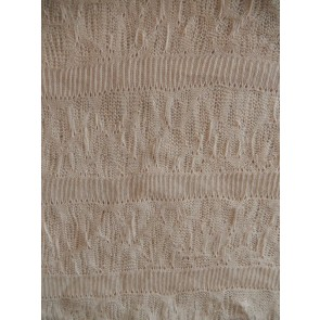 Light Stone Delicate Knit Acrylic Cotton Soft Fabric Q1239 LTSTN