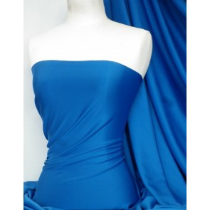 Royal Blue Marcy 4 Way Stretch Poly Lycra Fabric Q1336 RBL