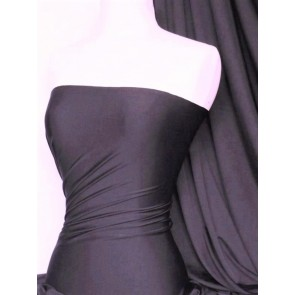 Onyx Purple 4 Way Stretch Micro Lycra Jersey Fabric Q259 OPPL