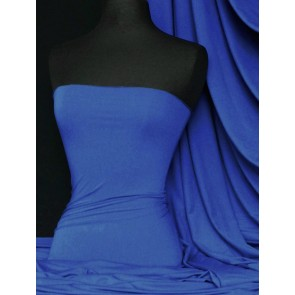 Royal Blue Viscose Cotton Stretch Lycra Q300 RBL