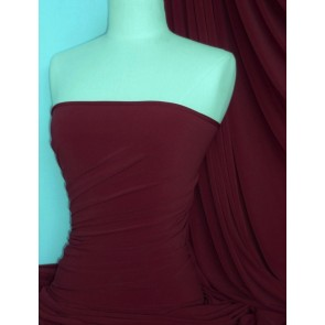 Cherry Red 4 Way Stretch Soft Touch Fabric Q36 CHRD
