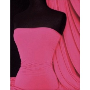 Clearance Cerise Soft Touch 4 Way Stretch Fabric Q36 CRS