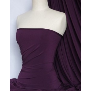 Dark Purple 4 Way Stretch Soft Touch Fabric Q36 DKPPL