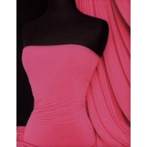 Hot Pink 4 Way Stretch Soft Touch Fabric Q36 HTPN