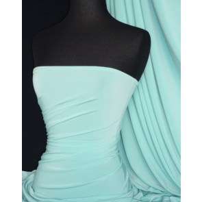 Minty Blue Soft Touch 4 Way Stretch Fabric Q36 MNTBL