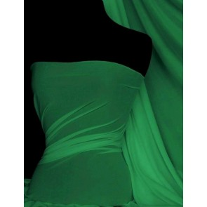 Jade Green 4 Way Stretch Light Jersey Fabric Q450 JDGR