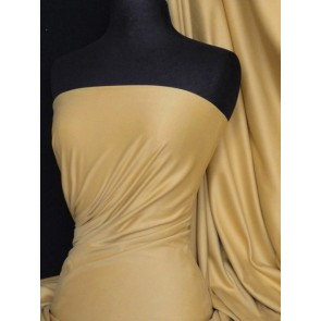 Light Camel Suede Look Stretch Fabric Q503 LTCML