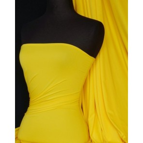 Bright Yellow Supplex Sports 4 Way Stretch Lycra Q50 BTYL