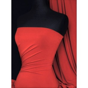 Red Supplex Sports 4 Way Stretch Lycra Q50 RD