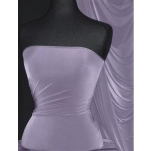 Pale Mauve Silk Touch 4 Way Stretch Lycra Fabric Q53 PMVE