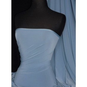 Periwinkle Blue Silk Touch 4 Way Stretch Jersey Lycra Q53 PWNK