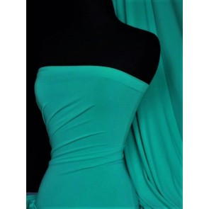 Sea Blue Matt Lycra 4 Way Stretch Fabric Q56 SBL