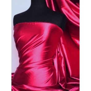 Dark Fuchsia Super Soft Satin Fabric Q710 DFUCH